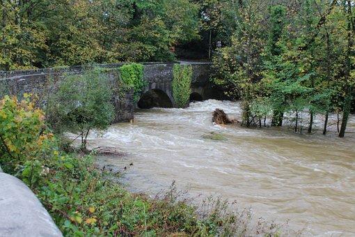 Wales, Welsh, River, Henllan Bridge, River Tivey