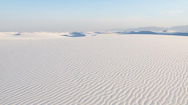 White Sands, Nm, Evening Light 2