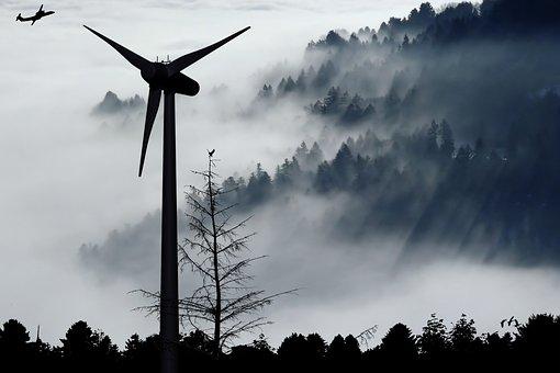 Pinwheel, Wind Turbine, Energy