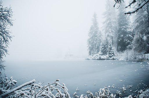 Winter, Ice, Snow, Nature, Frost, Icing, Mountains