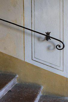 Handrail, Ornament, Historically, Old, Architecture