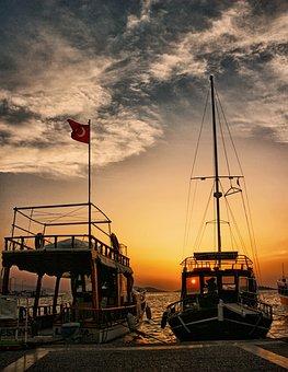 Marine, Sunset, Tropical, Color, Beautiful, Vietnam