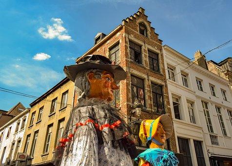 Belgium, Brussels, Festival, Puppet, Outdoor, Belgian