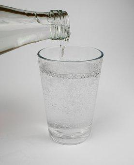 Water, Drink, Mineral Water, Glass, Bottle