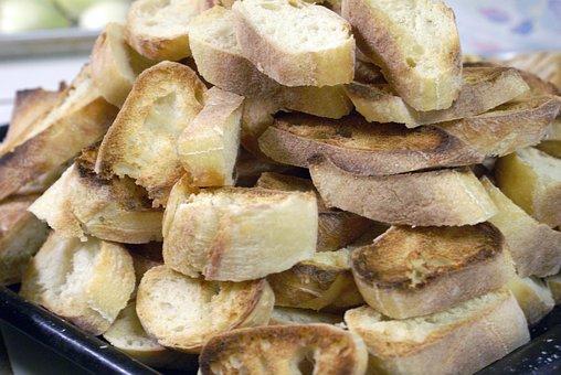Bread, Roti, Food