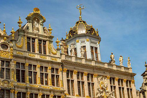 Belgium, Brussels, Grand Place, Buildings, Architecture