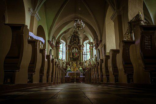 Church, Interior Of The Church, Catholic, Christianity