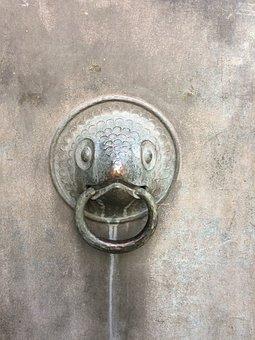 Door Knob, Church, Old, Door Handle, Dinosaur