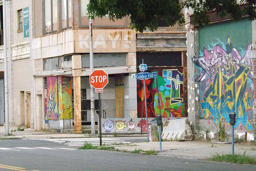 Blight, Blighted Areas, Downtown Blight, Bridgeport Ct