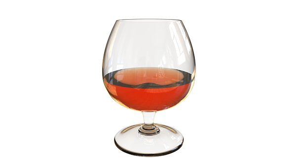 Cup Cognac, Cognac, Brandy, Cup, Glass, Drink, Drinks