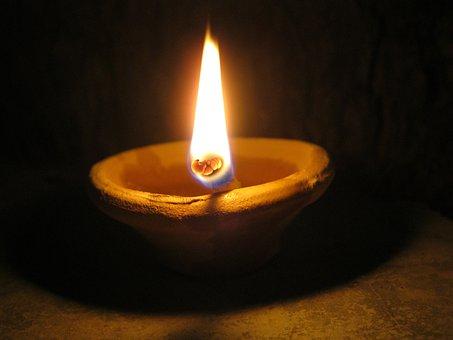 Diya, Diwali, Deepavali, Deepawali, Hindu, Lamp, Light