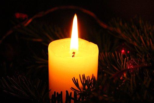 Christmas, Candle, Advent, Light, Decoration
