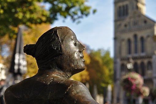 Sculpture, Roermond, Bronze, Statue, Monument