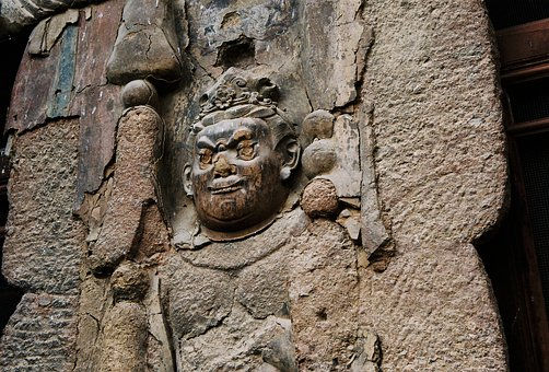 Mountai, Grotto, Buddha Statues, Plank, Travel, Relief