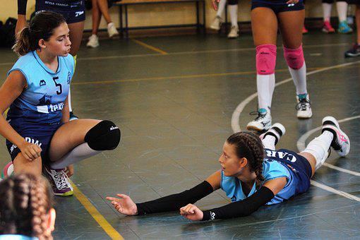 Sport, Volley, Volleyball, Play, Athlete, Team