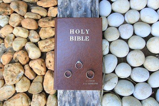 Bible, Ring, Wedding Ring
