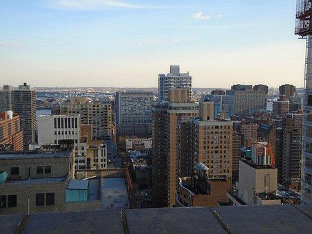New York, Skyline, Park Avenue South, Manhattan