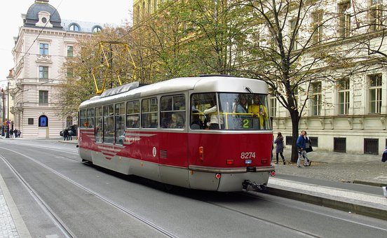 Streetcar, Tram, City, Travel, Urban, Transport