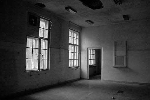 Darkness, Window, Windows, Abandoned, Shadow, Mood, Rom