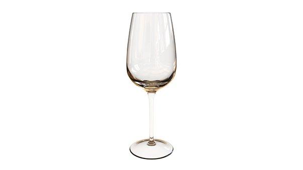 Wine Glass, Cup, Glass, Shine, Transparent
