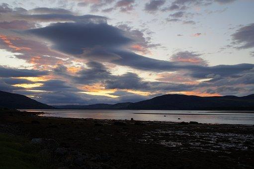 Abendstimmung, Scotland, Hole, Lake, United Kingdom