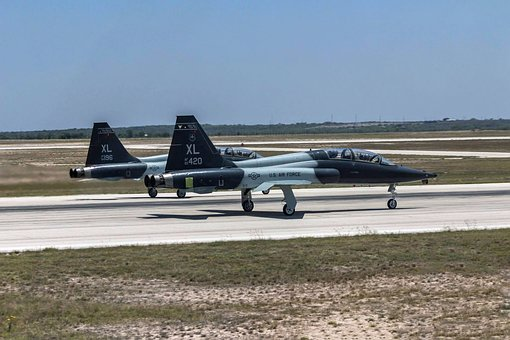 Air Force, T38, Jet, Trainer, Aircraft, Airplane