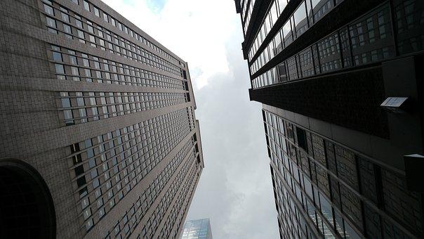 New York, City, Skyscrapers, United States, America