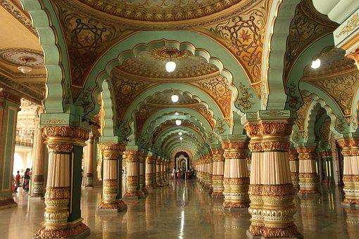 Palace, India, Architecture, Old, Famous, Ancient
