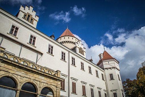 Konopiště, Castle, Monument, History, Old, Architecture
