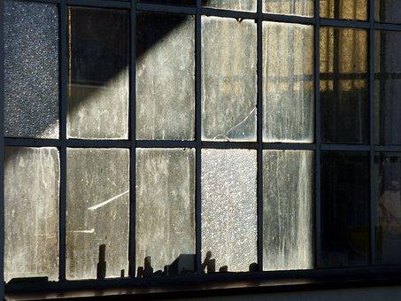 Window, Workshop, Light, Morning, Building, Old, Crafts