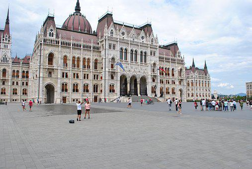 Tourism, Downtown, Capital, Hungary, Budapest