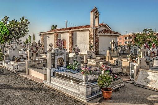 Cemetery, Church, Christianity, Religion, Orthodox