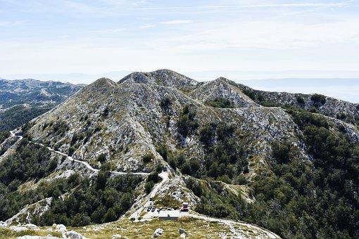 Mountains, Rocks, Mountain Way, Croatia, South Croatia