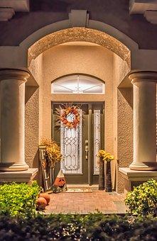 Fall, Decoration, Entrance, Autumn, Nature, Wreath
