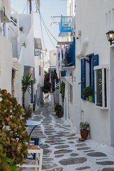Streets, Shadows, People, Empedrado, Tourism, White