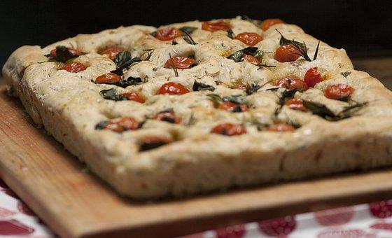 Focaccia, Food, Italian, Pizza