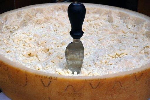 Grain, Cheese, Form, Parmigiano-reggiano