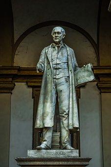 Gabrio Piola, Mathematician, Physicist, Italian, Statue