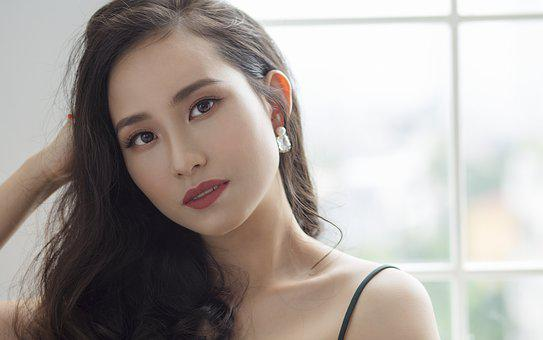 Asian, Beautiful Girl, Face, Cool, Hair, Female, People