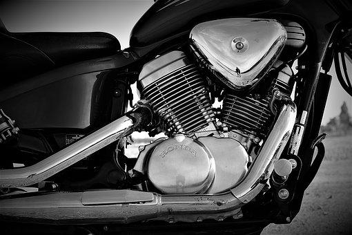 Engine, Honda, Honda Shadow, Shadow 750