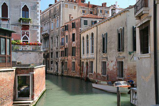 Venice, Italy, Architecture, Channel, Travel, Holidays