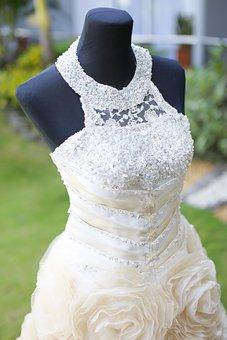 Wedding Dress, Dress, Lady Dress