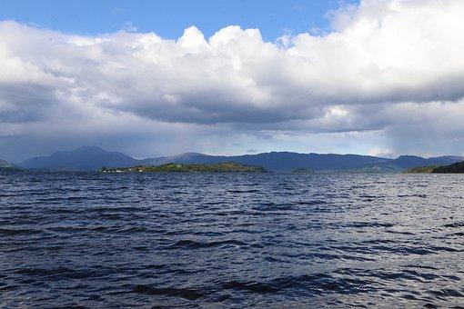 Water, Nature, Landscape, Scotland, Loch Lomond, Scenic