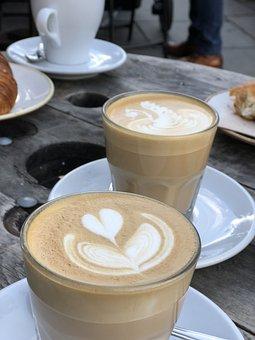 Coffee, Latte, Café
