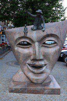 Bialystok, Podlaskie, Mask, Monument