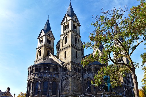 Cathedral, Roermond, Netherlands, Church