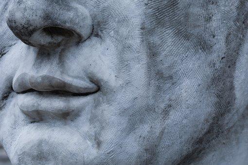 Face, Statue, Sculpture, Figure, Art, Portrait, Nose