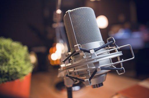 Microphone, Reccording, Studio, Studio Mic, Song