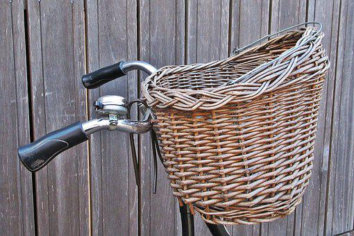 Basket, Bicycle Basket, Send, Call, Cycling