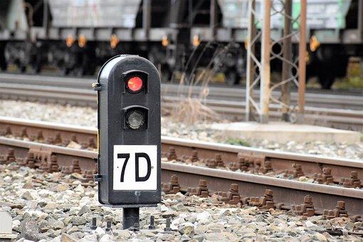 Railway Semaphore, Sign, Transport, Travel